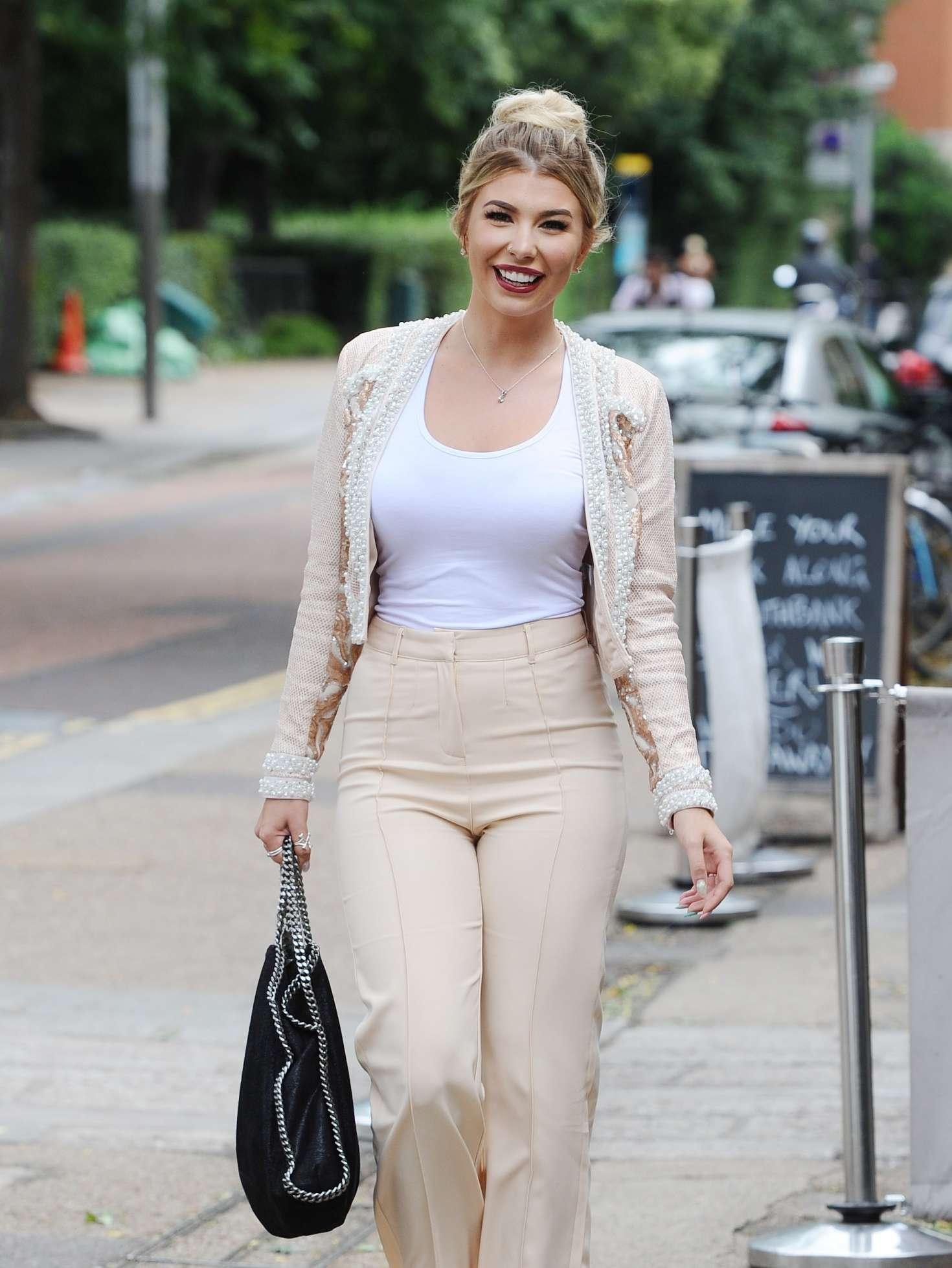 Olivia Buckland - Leaving ITV Studios in London