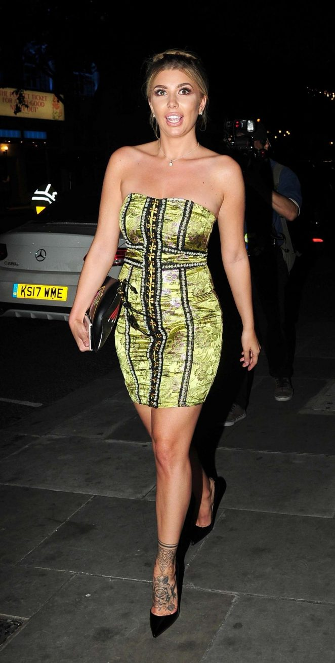 Olivia Buckland - LOTD Launch Party in London