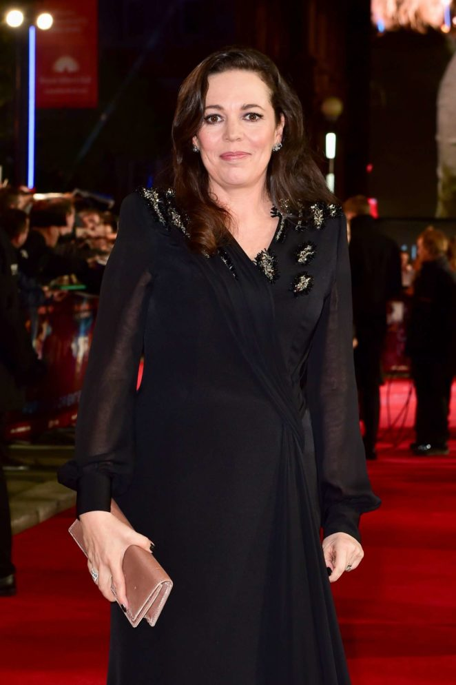 Olivia Colman - 'Murder on the Orient Express' Premiere in London