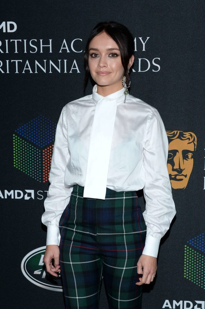 Olivia Cooke - 2017 BAFTA Los Angeles Britannia Awards in LA