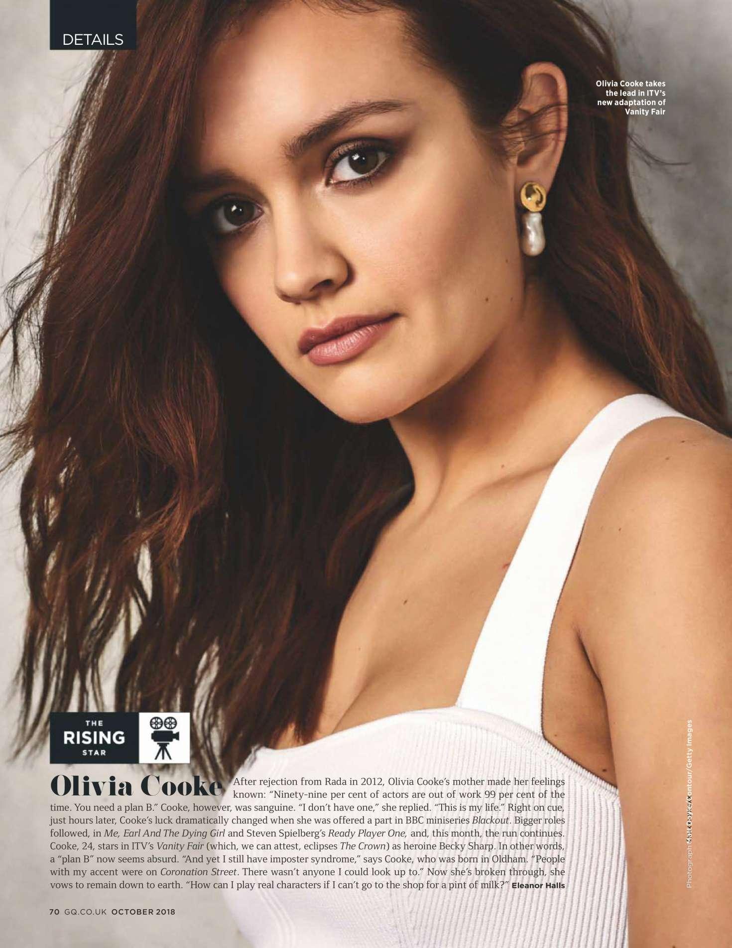 Olivia Cooke for GQ UK Magazine (October 2018)