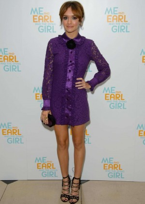 Olivia Cooke - 'Me And Earl And The Dying Girl' Premiere in London