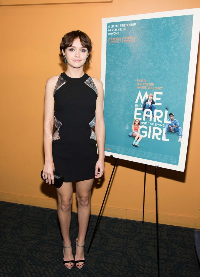 Olivia Cooke: Me and Earl and the Dying Girl NY Premiere -04