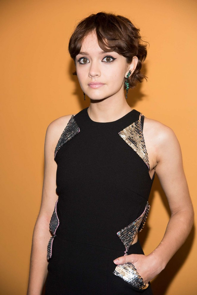 Olivia Cooke - 'Me and Earl and the Dying Girl' Premiere in NYC
