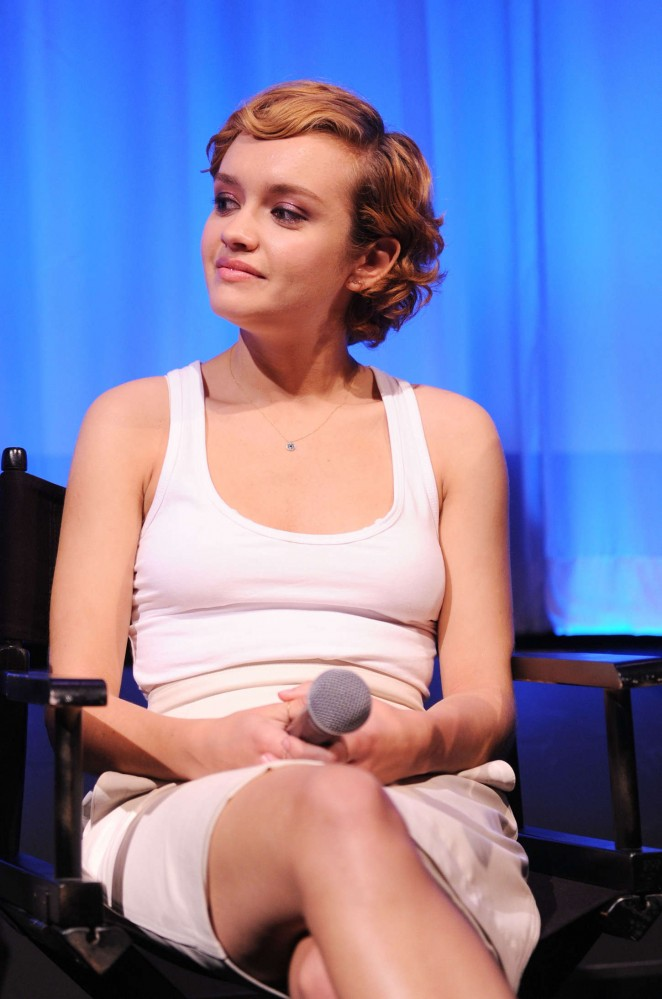 Olivia Cooke - Official Academy Screening of 'Me And Earl and The Dying Girl' in NY