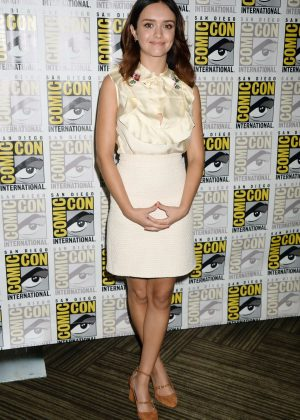 Olivia Cooke - Ready Player One Movie Panel at Comic-Con 2017
