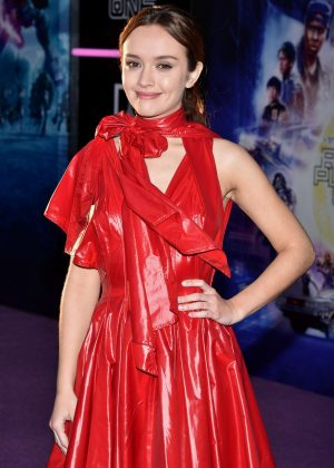 Olivia Cooke - 'Ready Player One' Premiere in Los Angeles