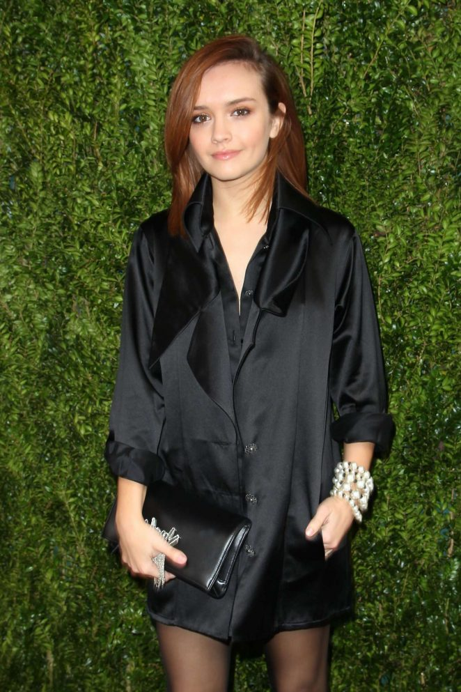 Olivia Cooke - The Tribeca Chanel Women's Filmmaker Program Luncheon in NY