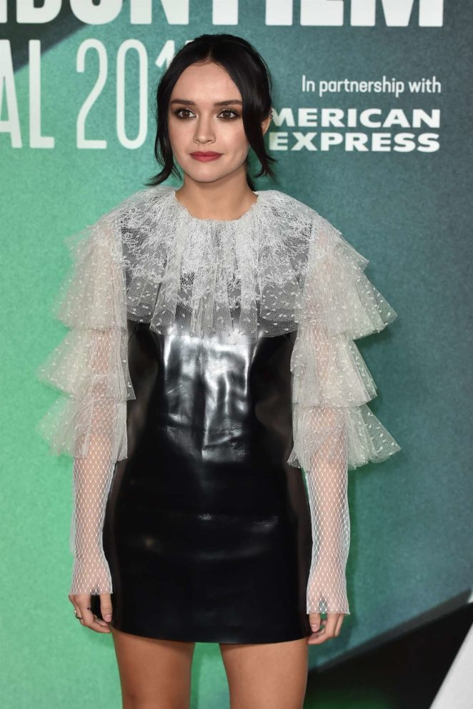 Olivia Cooke - 'Thoroughbreds' Premiere at 61st BFI London Film Festival in London