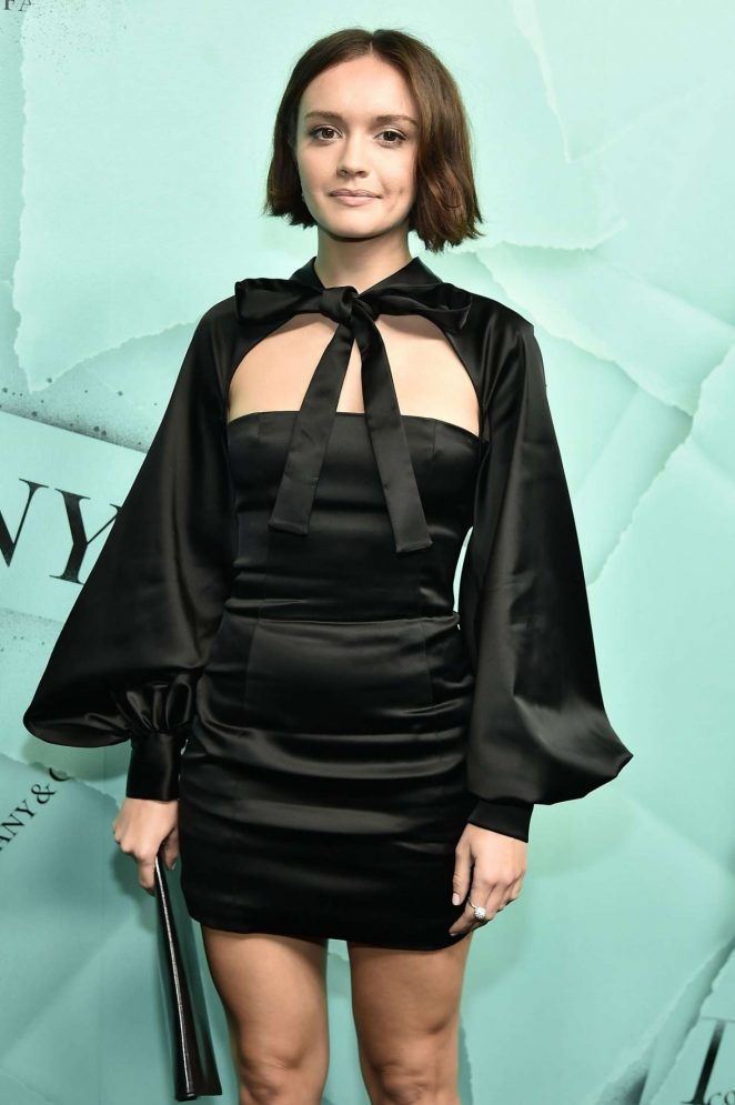 Olivia Cooke - Tiffany & Co. Celebrates 2018 Tiffany Blue Book Collection in NY