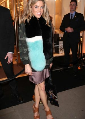 Olivia Cox at Furla store launch party in London