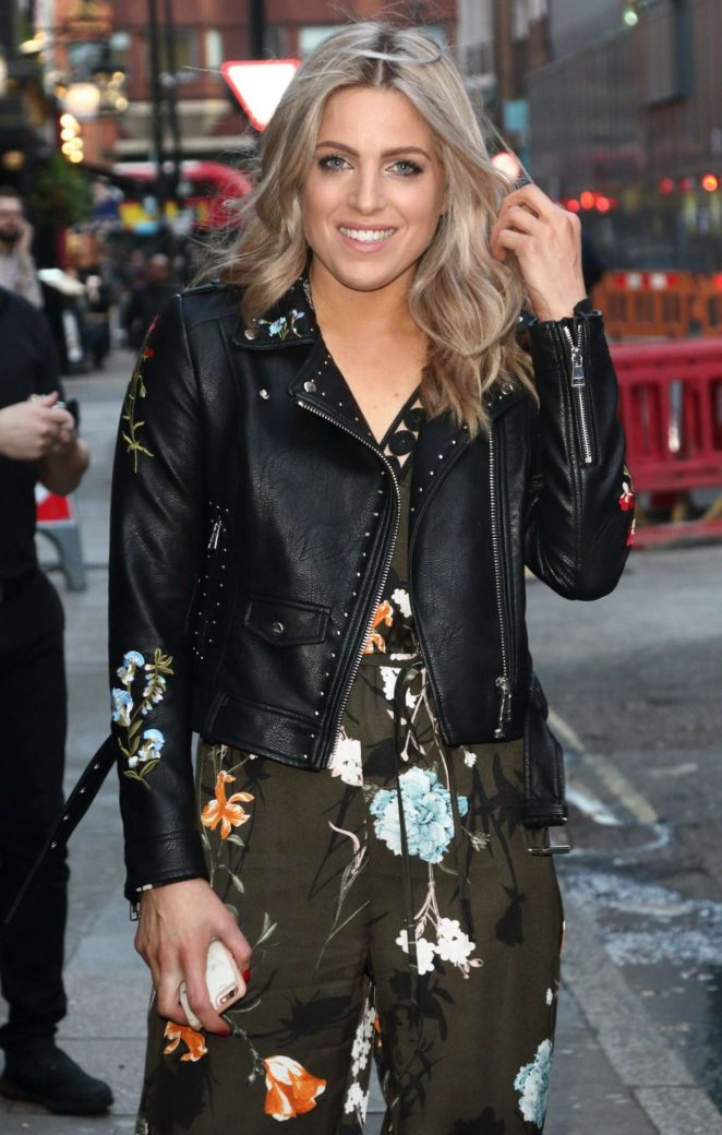 Olivia Cox at Popchips Launch Party in London