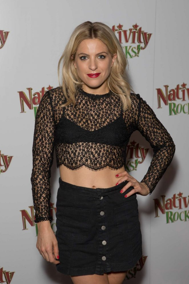 Olivia Cox - 'Nativity Rocks!' Screening in London