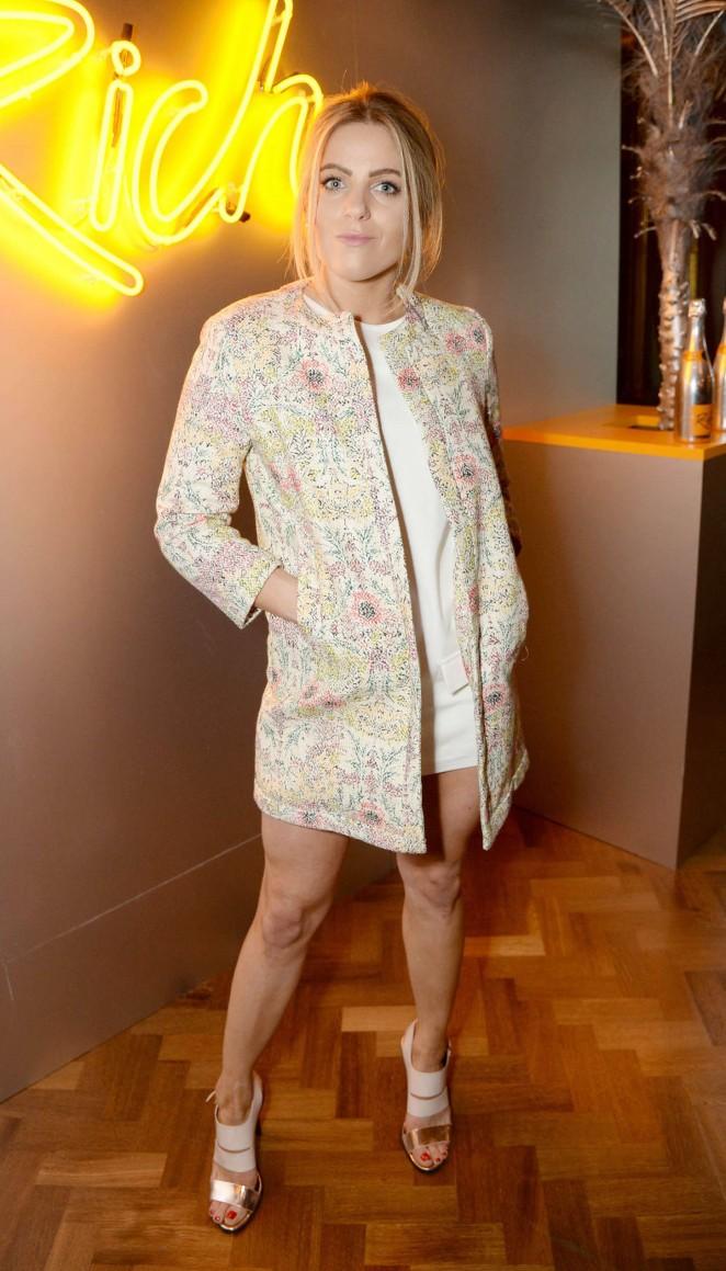 Olivia Cox: Veuve Cliquot Rich Launch Party -01