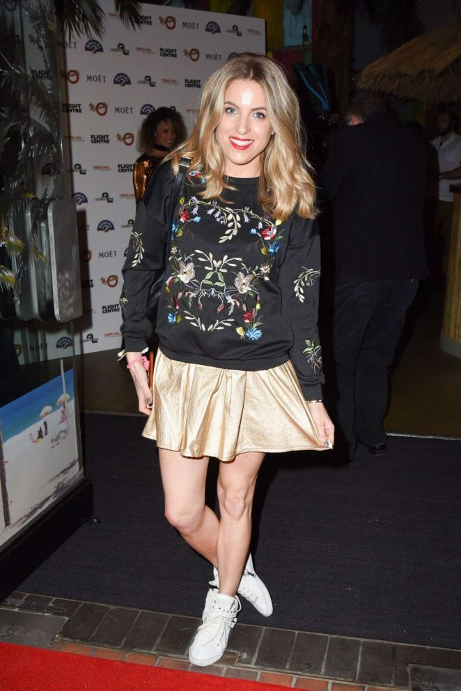 Olivia Cox - VIP Opening Night Of Tropicana Beach Club in London