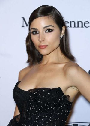 Olivia Culpo - 2017 amfAR generationCURE: Holiday Party in NYC