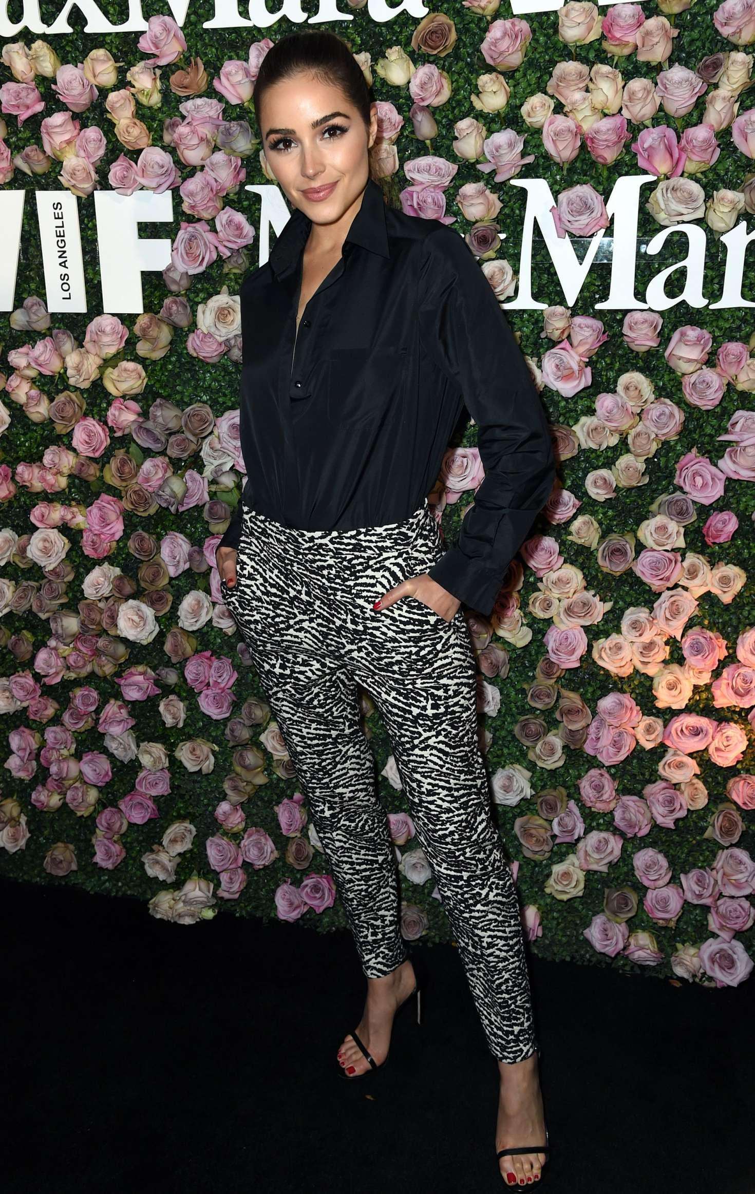 Olivia Culpo 2017 : Olivia Culpo: 2017 Women In Film Max Mara Face of the Future Awards -01