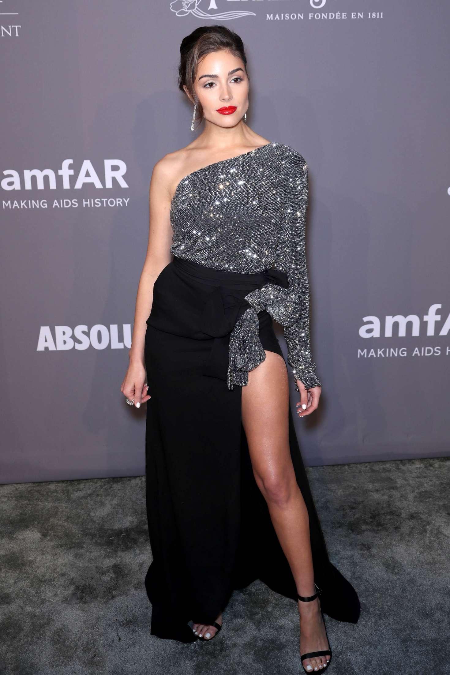 Olivia Culpo - 2018 amfAR Gala in New York