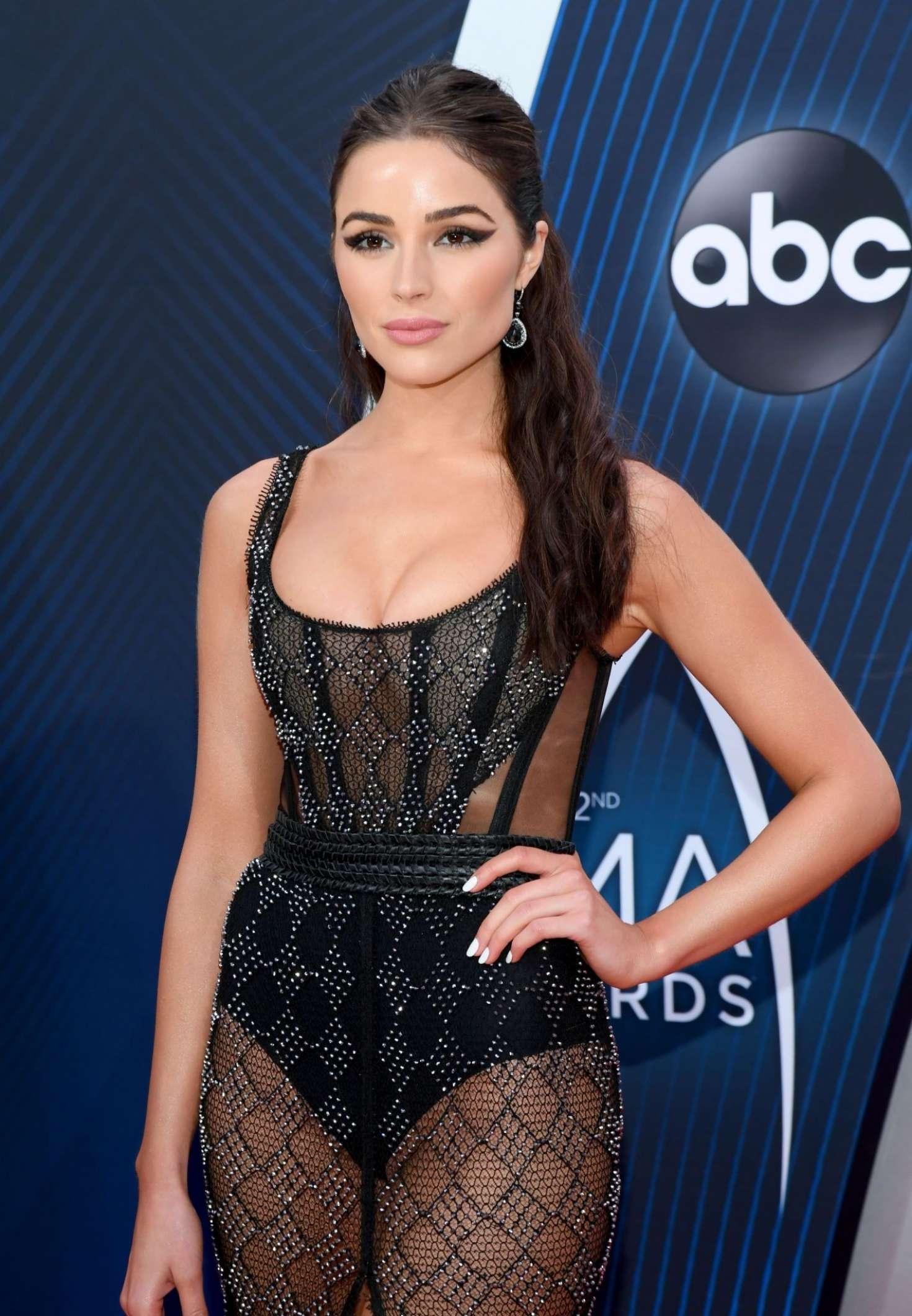 Olivia Culpo - 2018 CMA Awards in Nashville