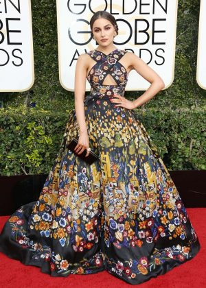 Olivia Culpo - 74th Annual Golden Globe Awards in Beverly Hills
