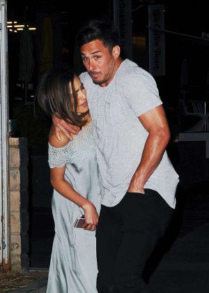 Olivia Culpo and boyfriend at Paley Hollywood in LA