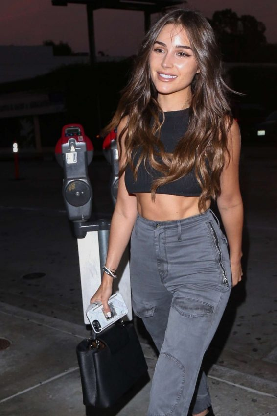 Olivia Culpo and Cara Santana - night out at Catch LA restaurant in West Hollywood