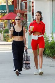 Olivia Culpo and Cara Santana - On thier way to Coachella Valley Music and Arts Festival