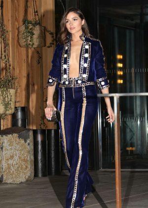 Olivia Culpo - Arrives at Gigi Hadid's 23rd Birthday Party in NY
