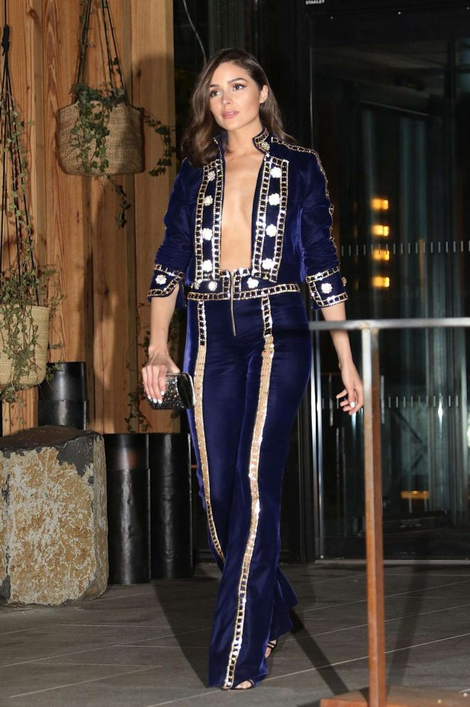 Olivia Culpo - Arrives at Gigi Hadid's 23rd Birthday Party in NY