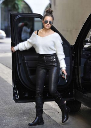 Olivia Culpo - Arriving for Rampage Photoshoot in Los Angeles