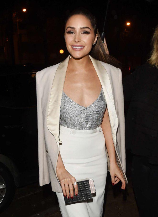 Olivia Culpo – Arriving to A Pre Golden Globe Party in LA