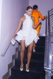 Olivia Culpo - Arriving to Maxim 100 Party at the SLS Hotel in Miami Beach