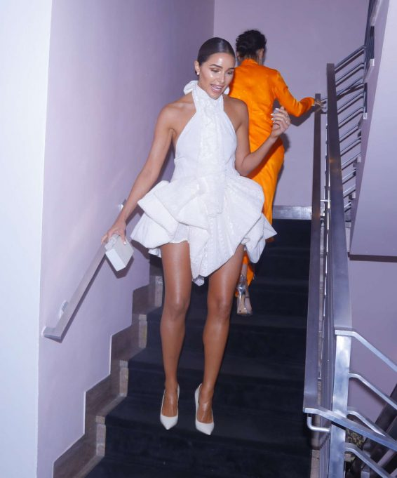 Olivia Culpo - Arriving to Maxim 100 Party at the SLS Hotel in Miami Beach