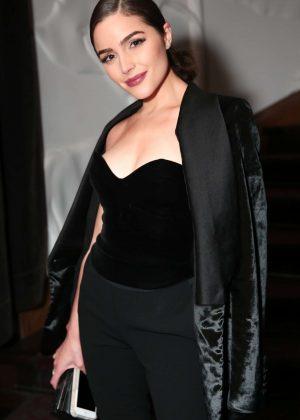 Olivia Culpo at Forward by Elyse Walker Dinner in Paris