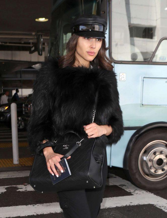 Olivia Culpo at LAX Airport in Los Angeles