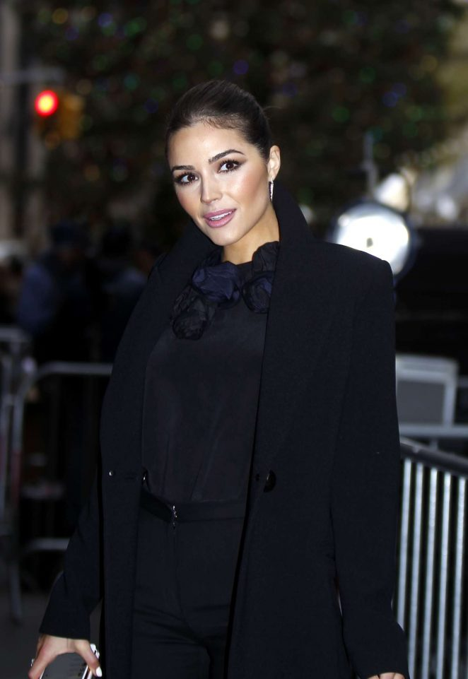 Olivia Culpo at 'Today' show in NYC