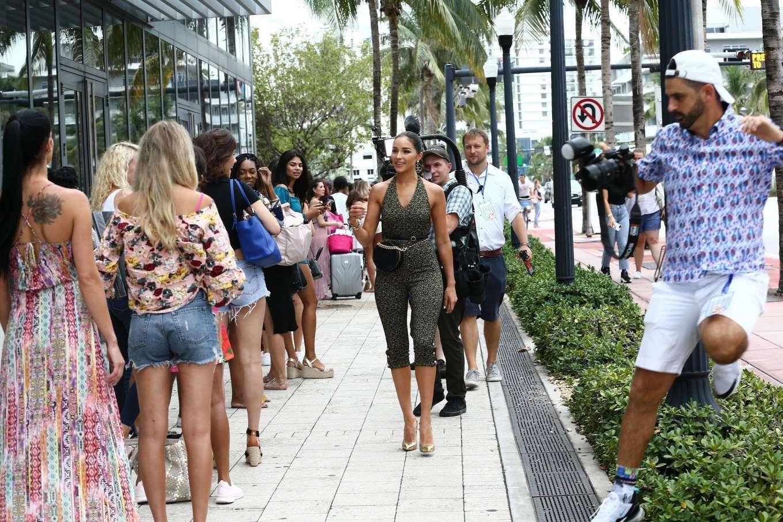 Olivia Culpo 2019 : Olivia Culpo – Attends a casting call for Sports Illustrated-13
