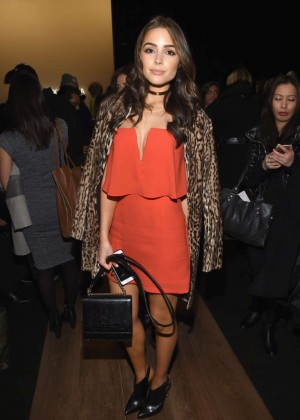 Olivia Culpo - BCBGMAXAZRIA Fashion Show 2015 in NYC