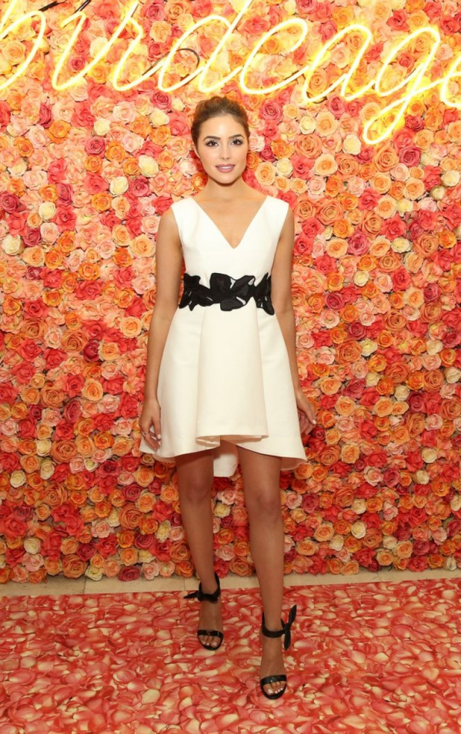 Olivia Culpo - Birdcage Spring Launch Event in New York