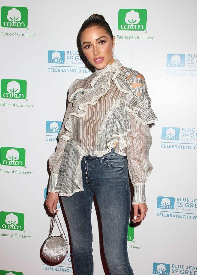Olivia Culpo - Blue Jeans Go Green 10th Anniversary Event in New York