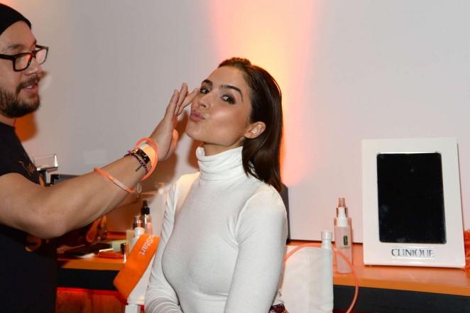 Olivia Culpo: Clinique Pep-Start Eye Cream Launch Party -17