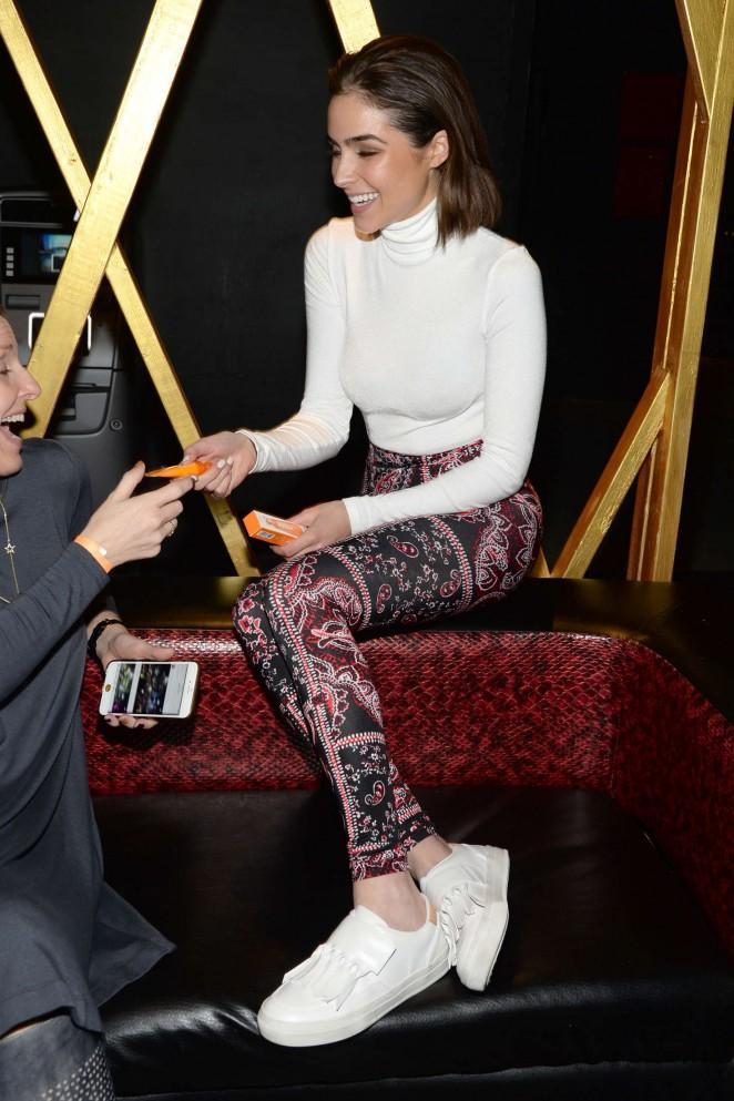 Olivia Culpo: Clinique Pep-Start Eye Cream Launch Party -31