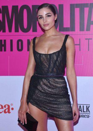 Olivia Culpo - Cosmopolitan Fashion Night Red Carpet in Mexico City