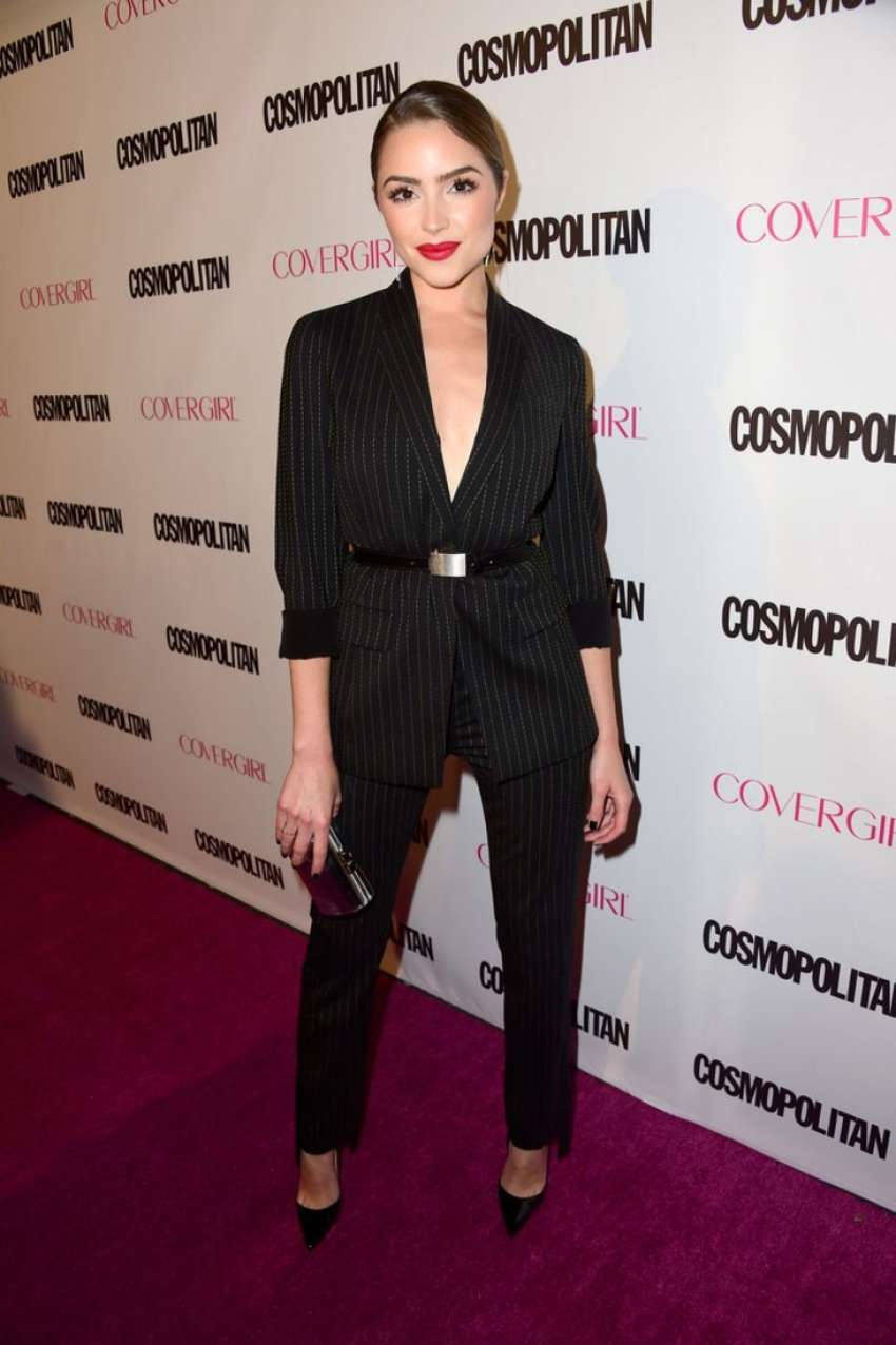 Olivia Culpo 2015 : Olivia Culpo: Cosmopolitans 50th Birthday Celebration -04