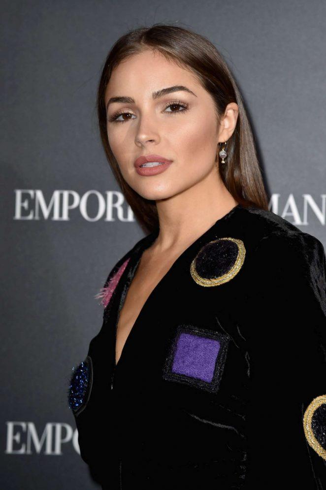 Olivia Culpo - Emporio Armani Show SS 2017 in Paris