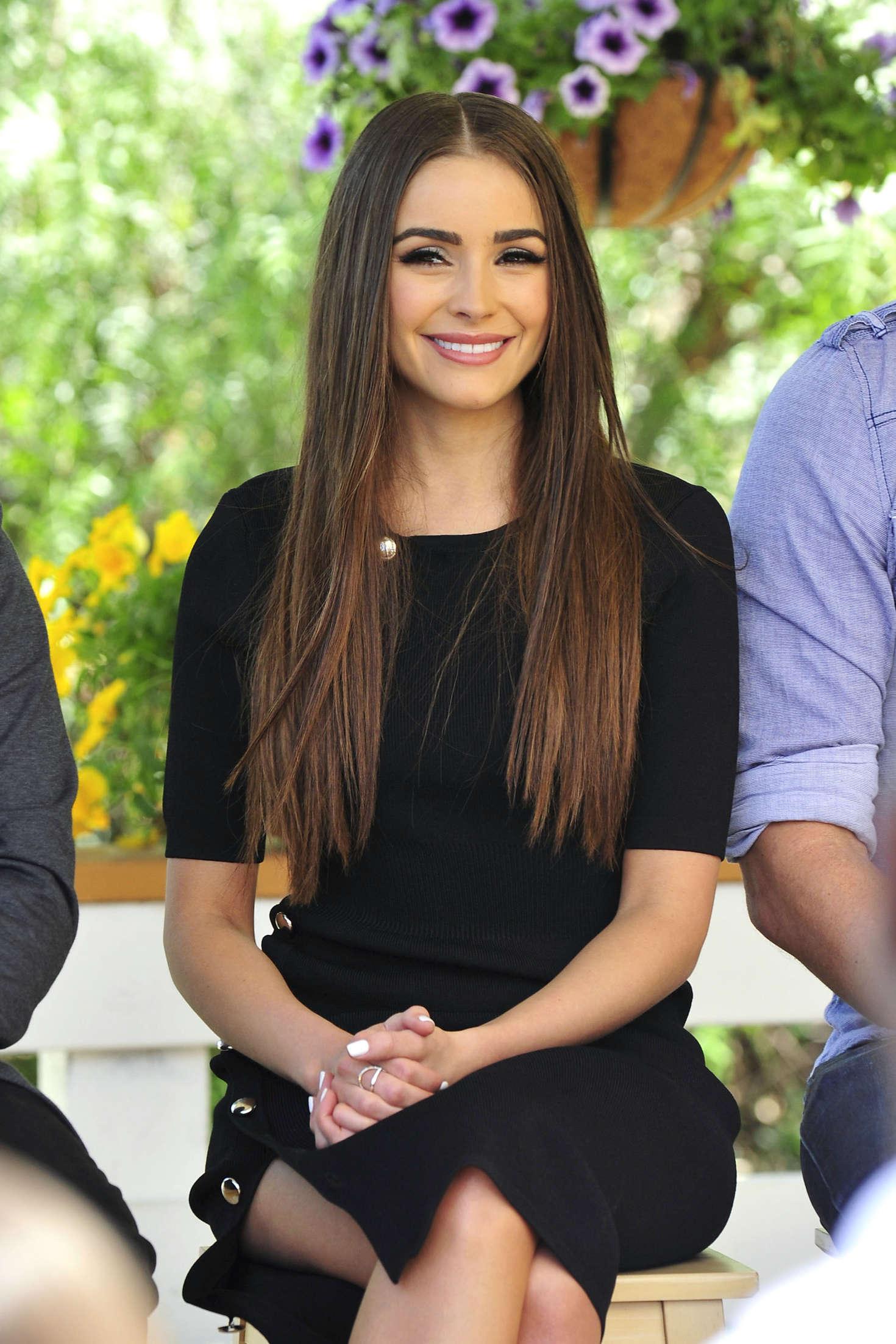 Olivia Culpo - 'Home & Family' TV show in Los Angeles