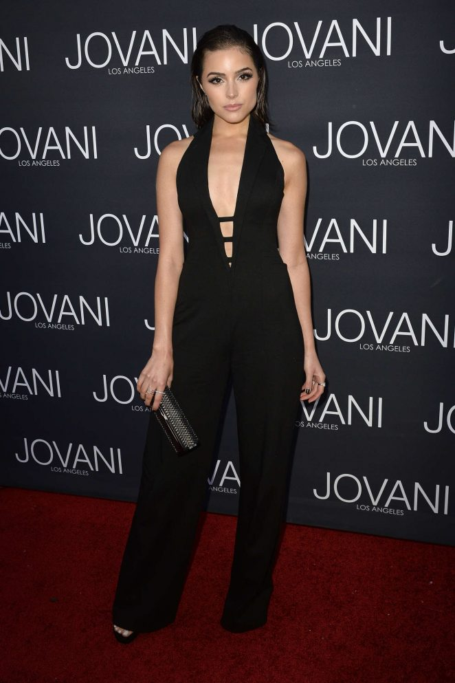 Olivia Culpo: Jovani Los Angeles Store Opening Celebration -13