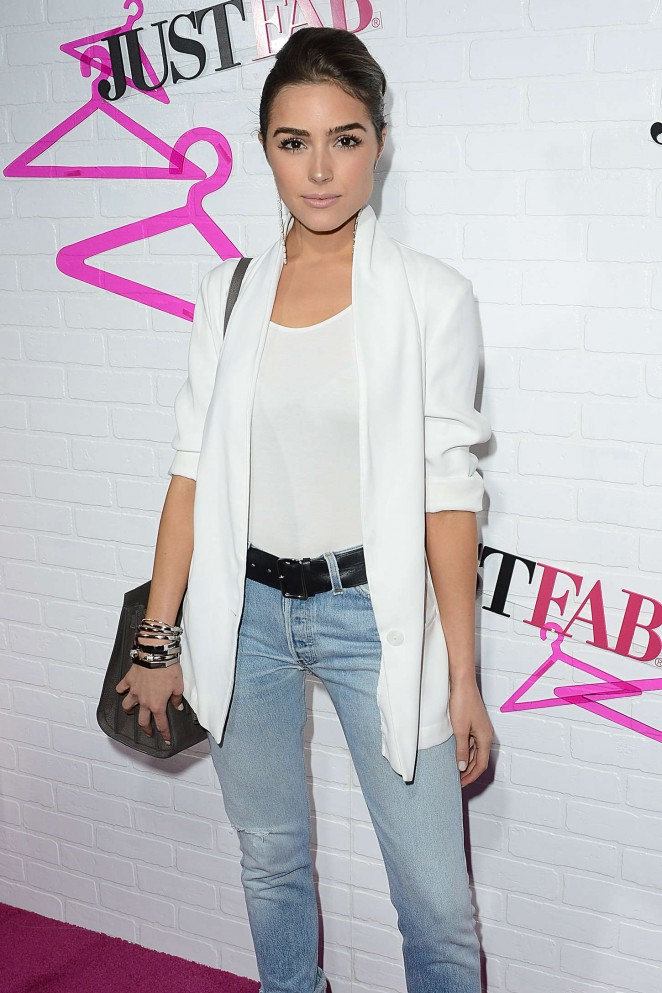 Olivia Culpo – JustFab Ready-To-Wear Launch Party in West Hollywood