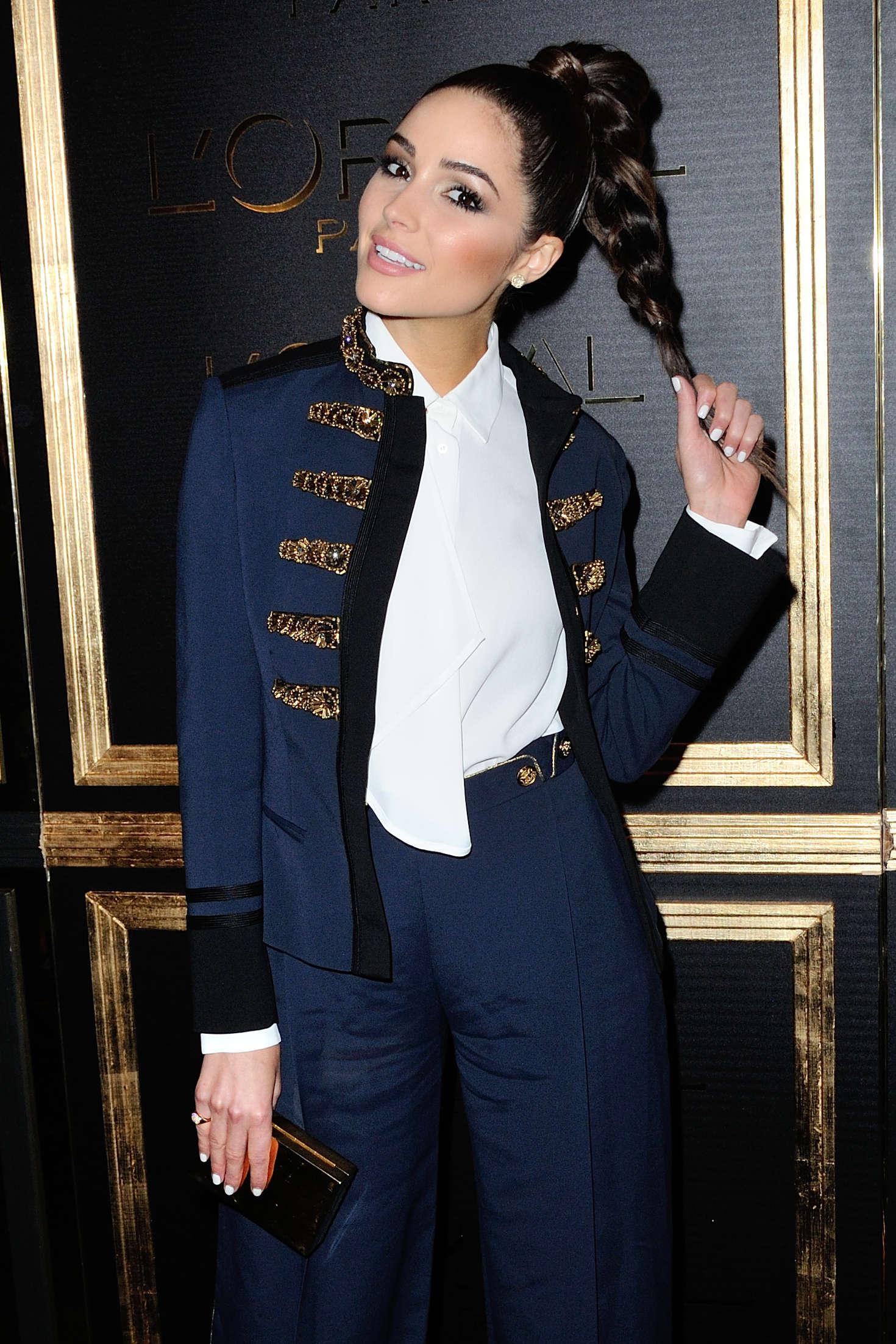 Olivia Culpo - L'Oreal Gold Obsession Party 2016 in Paris