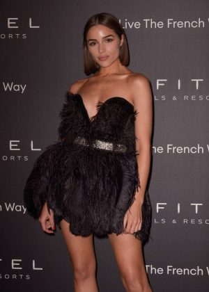 Olivia Culpo - La Nuit by Sofitel Party with CR Fashion Book in Paris